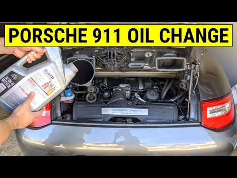 ✪ Porsche 911 - Engine Oil Change DIY Tutorial (How To) ✪