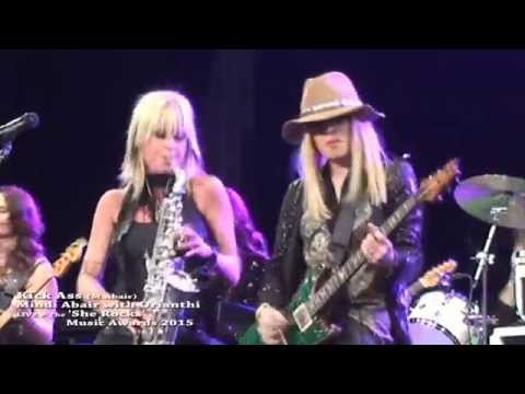 Kick Ass – Mindi Abair with Orianthi LIVE @ The She Rocks Music Awards 2015 - musicUcansee.com
