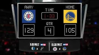 Clippers @ Warriors LIVE Scoreboard - Join the conversation & catch all the action on TNT!