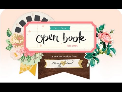 open box: maggie holmes open book