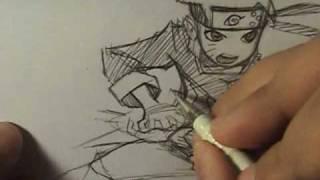 How I Draw Naruto Uzumaki