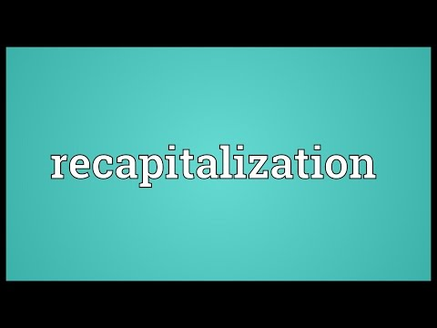 Recapitalization Meaning
