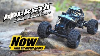 Basher Rocksta 1/24 4ws Mini Rock Crawler - Hobbyking Product Video