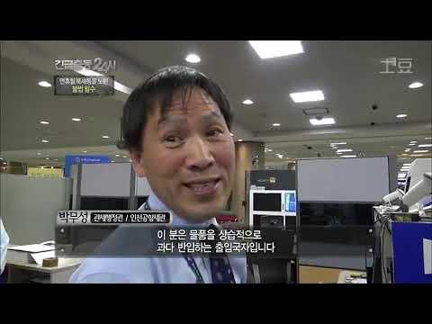 [다큐] 대한민국 최전방 관세국경을 사수하라 인천공항세관 24시