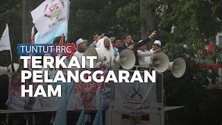 Ribuan Massa Ormas Islam Unjuk Rasa Bela Muslim Uighur
