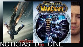 Pelicula de World of Warcraft / Poster Iron man, Oscars, Frozen / Millennium 2 sin Daniel Craig
