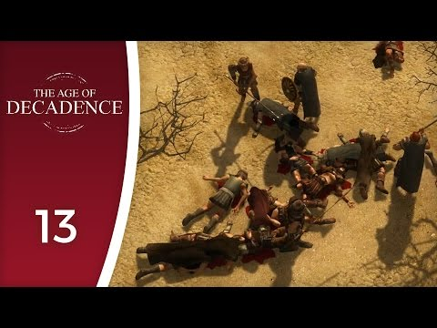With an eye hanging off the socket - Let's Play The Age of Decadence #13