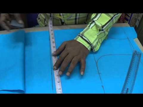Pakistani Salwar Kameez Cutting Method: Easy Way To Cut Kameej thumbnail