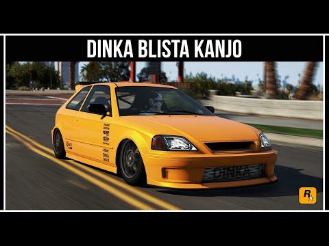 GTA Online: Dinka Blista Kanjo - Самый шустрый компакт автомобиль