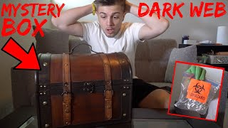 Opening A Dark Web Mystery Box (Very Scary)  GONE WRONG