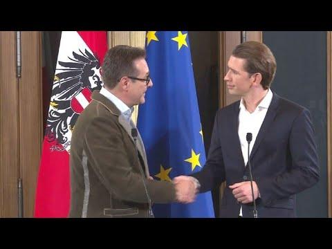 ÖVP und FPÖ einig: Türkisblaue Regierung für Österreich