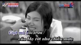 Karaoke [TAN NHAC] Canh chua bông sua đũa - song ca Xakura