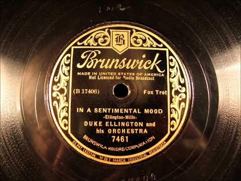 IN A SENTIMENTAL MOOD  Duke Ellington 1935
