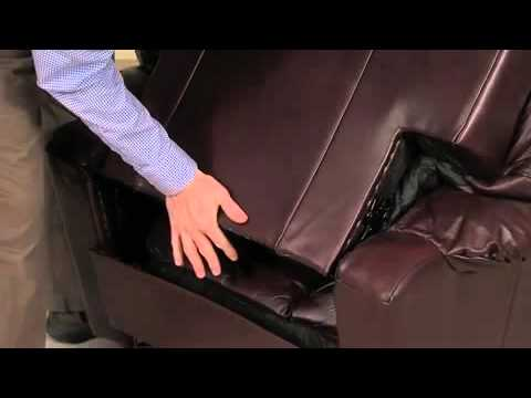 How To Install And Remove A La Z Boy Recliner Back Youtube