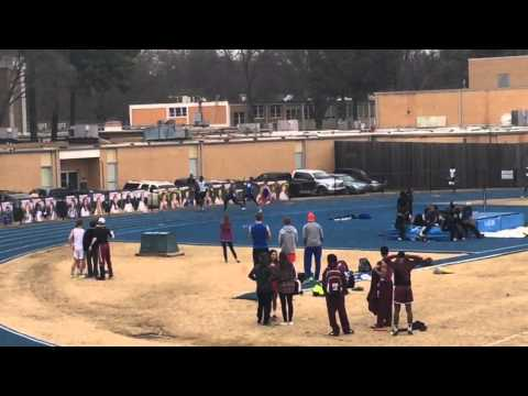 Charlie Gilliland / MUS Track 4x100 (3-21-15)