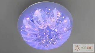 Люстра-тортик с LED подсветкой и пультом ДУ(Новое слово в освещении. Компактно, ярко и неожиданно. Гарантия 1 год на все. Отличные цены. Купите люстру..., 2015-12-07T14:28:45.000Z)