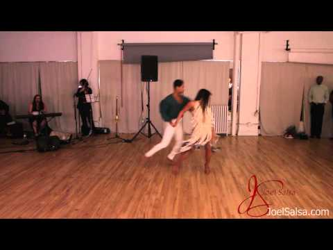 Franklin Diaz And Griselle Ponce - In The Light - Salsa New York City