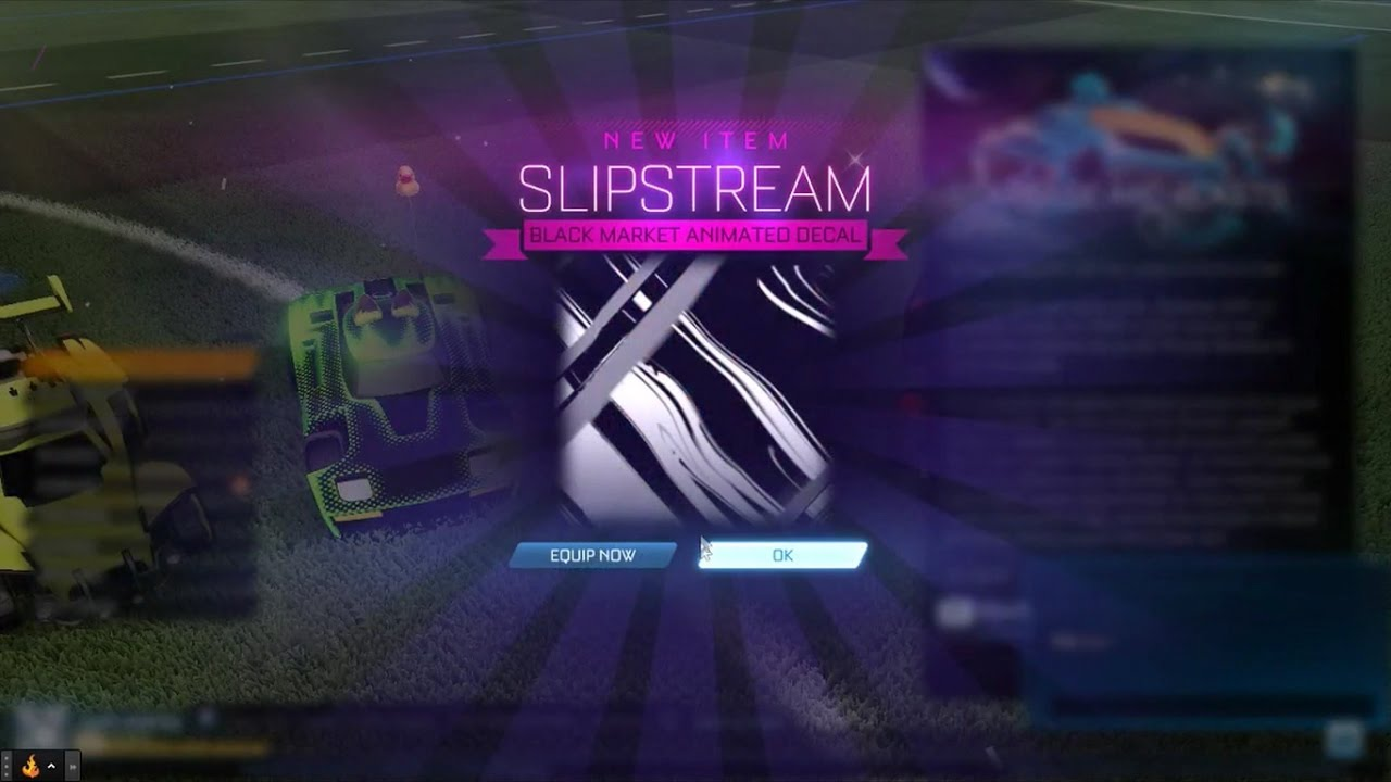 Rocket League- Trading for a Mystery Decal!!1- Slipstream ...