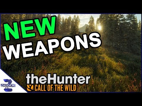 NEW Weapons and Jackrabbits Call of the Wild