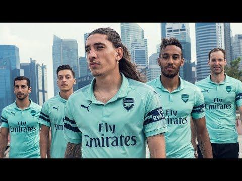 timeless design a6e22 76996 Introducing Arsenal's 2018/19 PUMA third shirt - YouTube