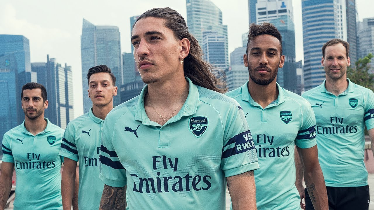 c19c983ef7a Introducing Arsenal s 2018 19 PUMA third shirt - YouTube