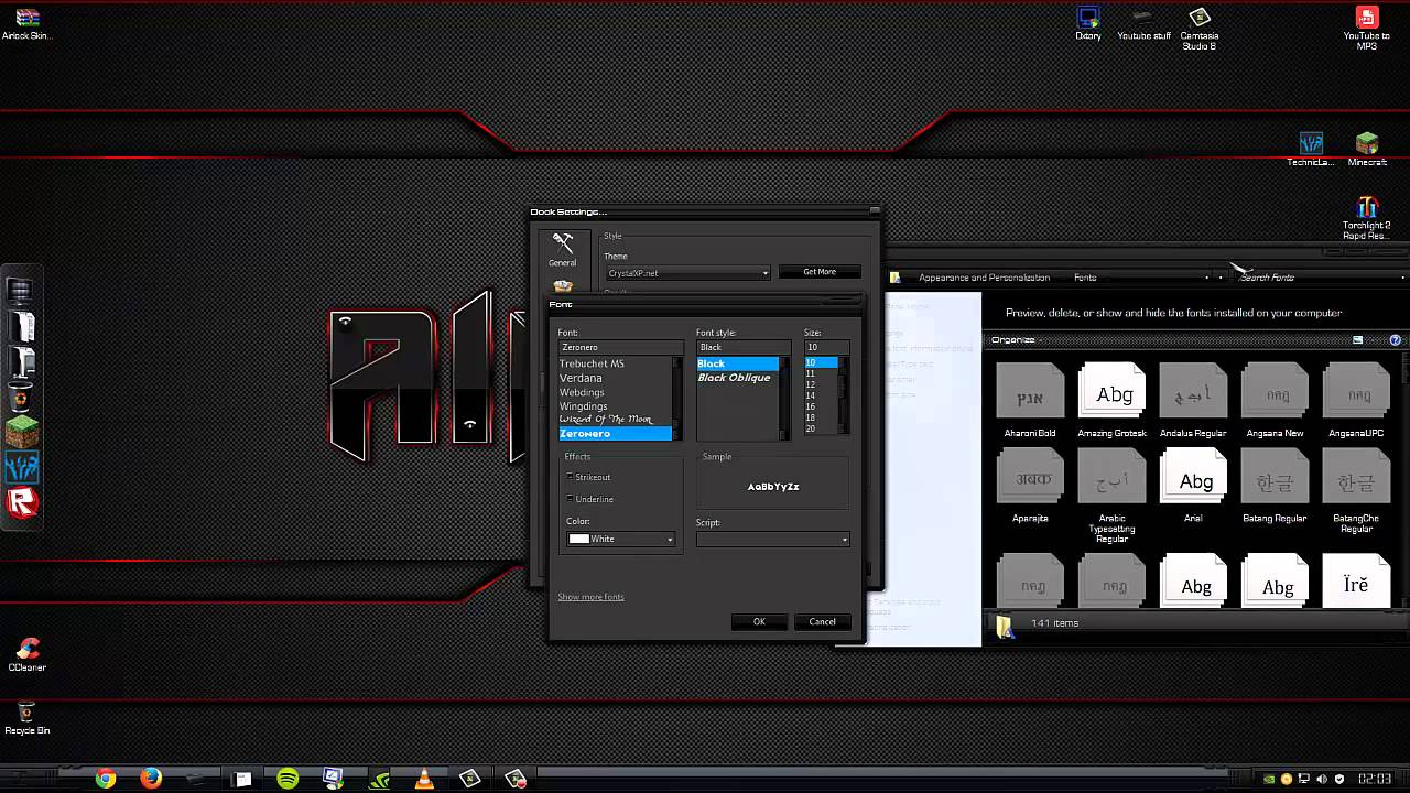 how to make your desktop look cool windows 7/8 - youtube