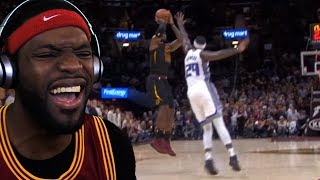 LEBRON CLUTCH GAME WINNER!! UNREAL!! CAVS VS KINGS FULL GAME HIGHLIGHTS [REACTION]