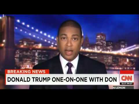Presidential Election 2016: Donald Trump FULL Interview [CNN]
