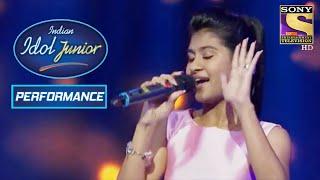 Nithyashree's Sensational Performance on 'Ram Chahe Leela' | Indian Idol Junior 2