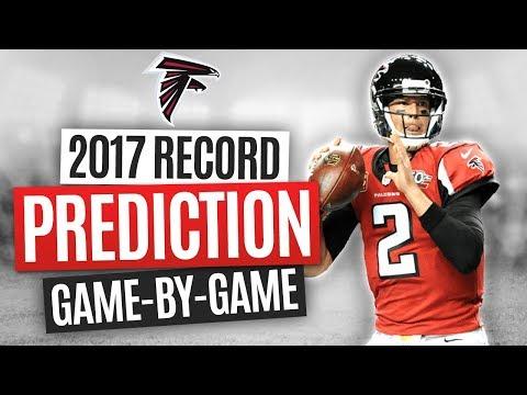 2017 NFL WIN/LOSS PREDICTIONS - ATLANTA FALCONS FULL SCHEDULE BREAKDOWN & FINAL RECORD!