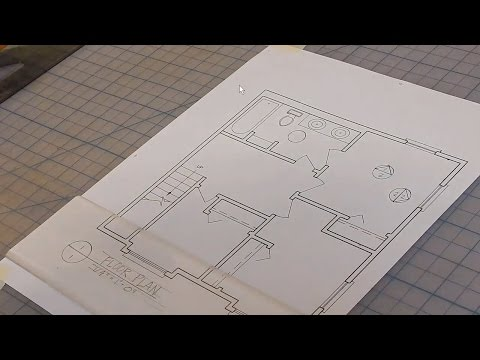 Manual Drafting: How to Draw ID and Elevation Symbols