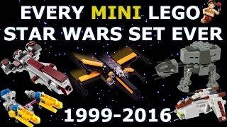 Every LEGO Star Wars Mini Set EVER! 1999-2016 HD