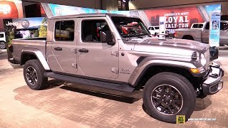 2020 Jeep Gladiator Overland - Exterior and Interior Walkaround - Debut at 2018 LA Auto Show