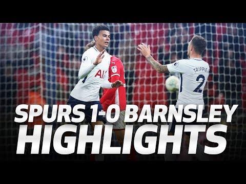 HIGHLIGHTS   Spurs 1-0 Barnsley (Carabao Cup third round)
