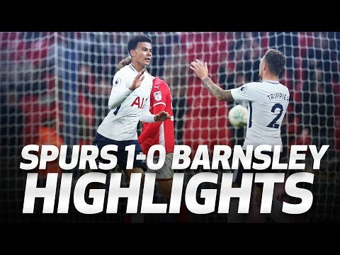 HIGHLIGHTS | Spurs 1-0 Barnsley (Carabao Cup third round)