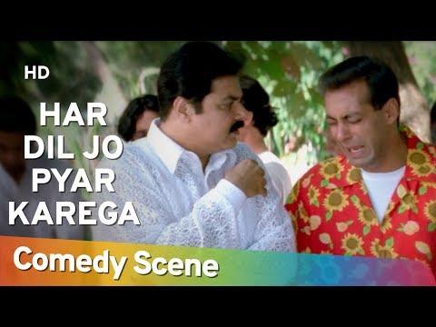 Har Dil Jo Pyar Karega - Neeraj Vora - Salman Khan - Best Comedy Scene - #Shemaroo Comedy
