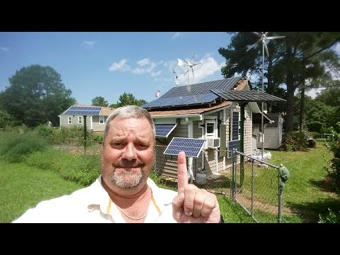 "Solar And Wind Home Power Bill ""1"" kWh August 2017 By KVUSMC"