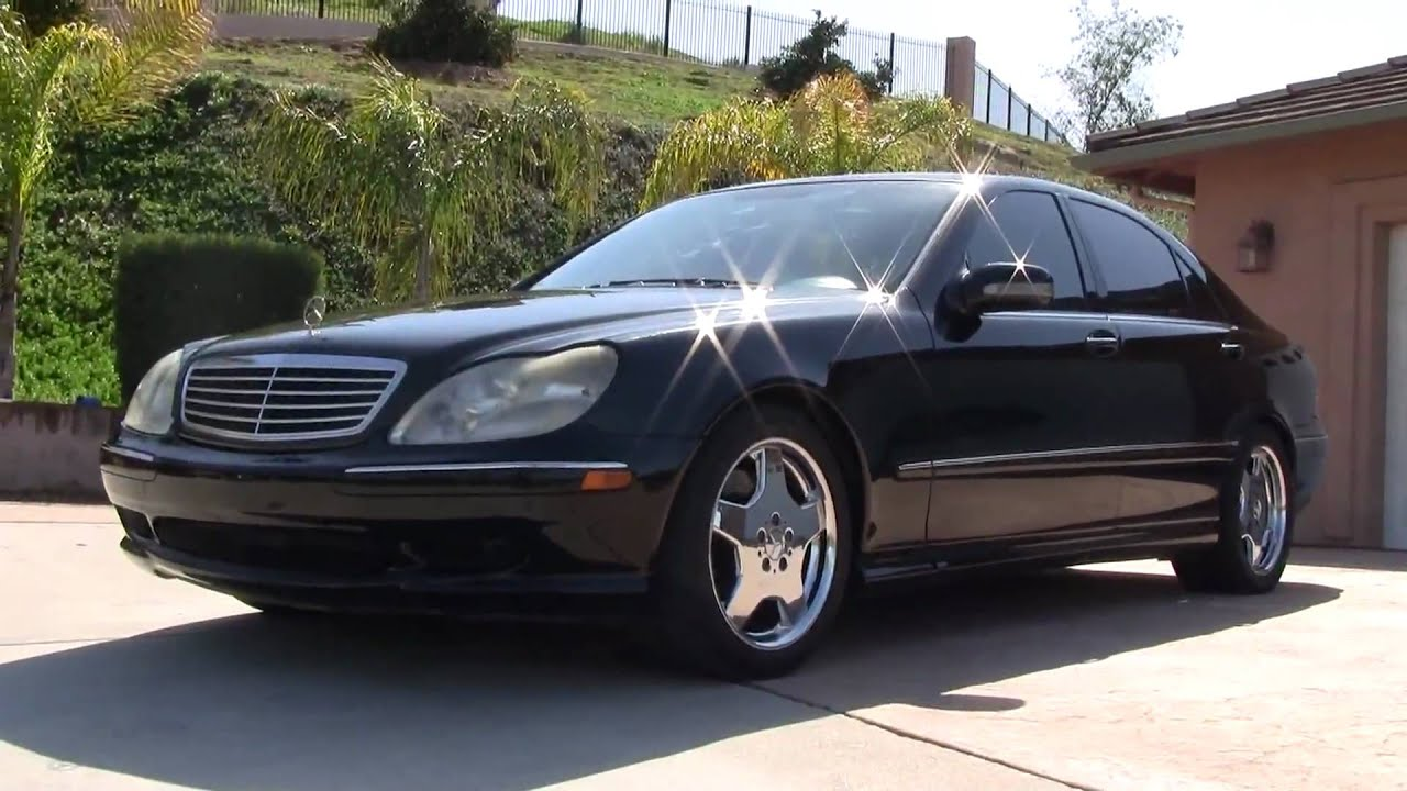 2001 mercedes benz s55 amg w220 5 5 v8 vette eater s550 s500 for sale youtube. Black Bedroom Furniture Sets. Home Design Ideas
