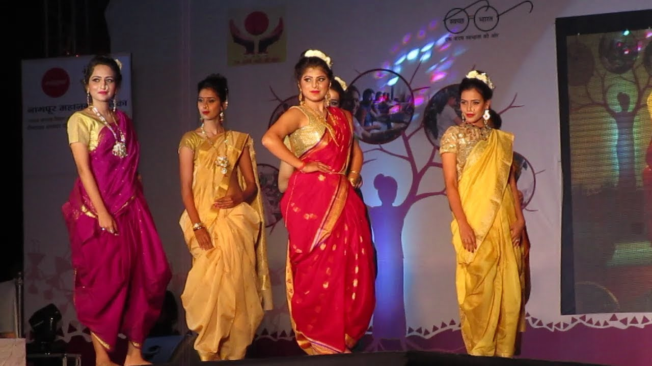 Fashion Show Marathi Traditional Fashion Show अप सर आल Youtube