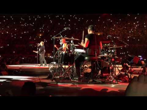 U2 - Intro + Sunday Bloody Sunday - Stadio Olimpico, Roma 15.07.2017