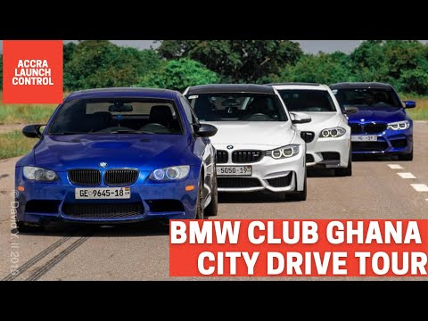 BMW Club Ghana City Drive Tour || ACCRA LAUNCH CONTROL