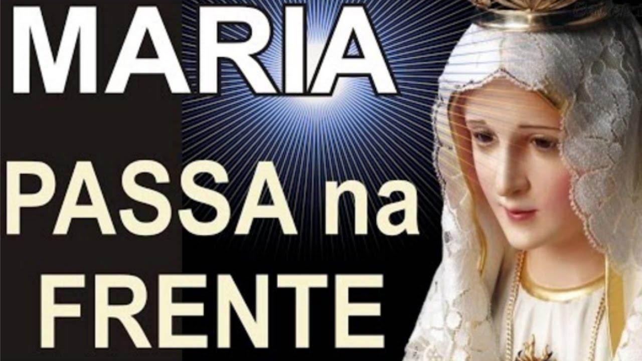 Excepcional Terço MARIA PASSA na FRENTE - YouTube KZ79