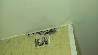 Курганцы боятся оставаться в квартирах во время дождя и снегопада
