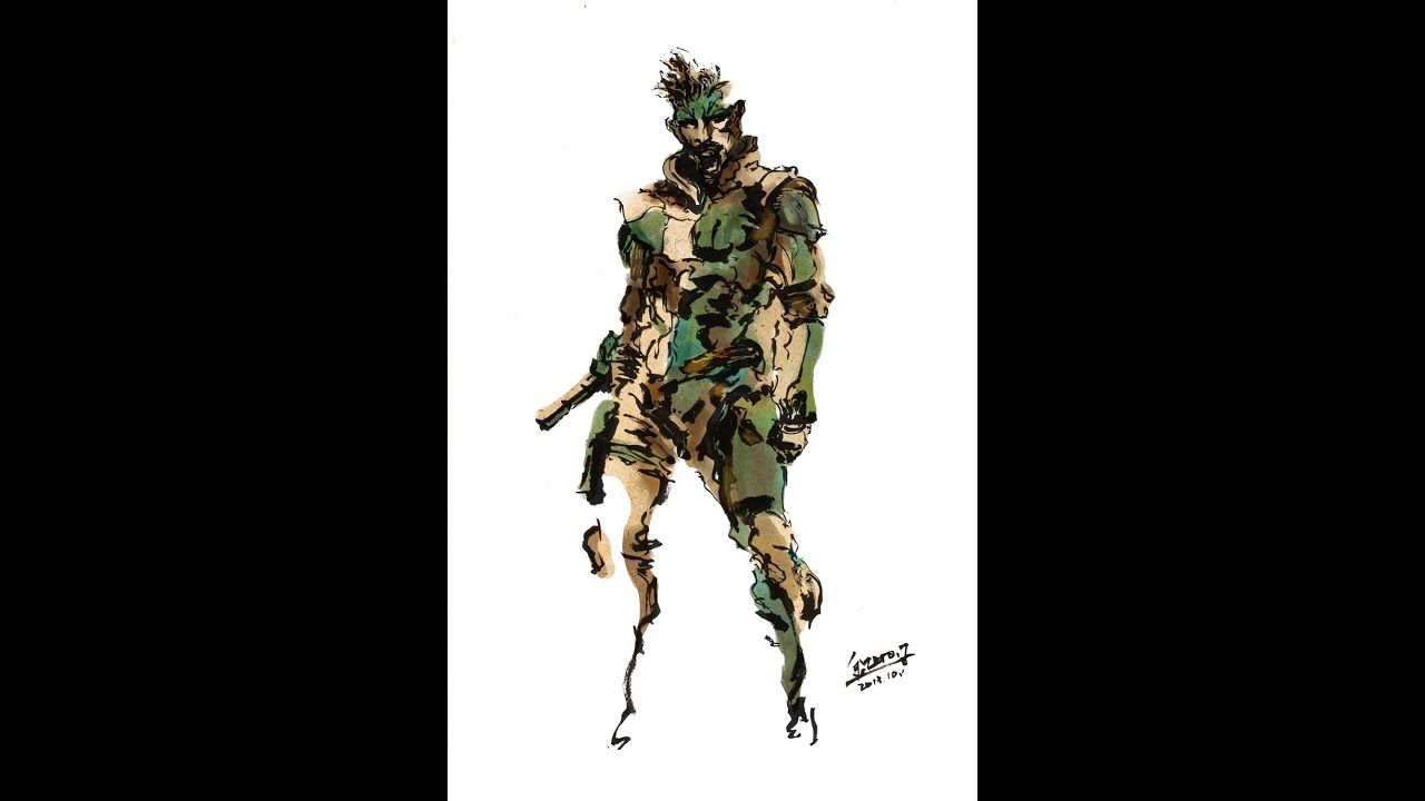 metal gear solid 1 solid snake cover art youtube