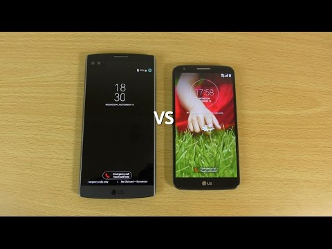 LG V10 VS LG G2 - Speed test
