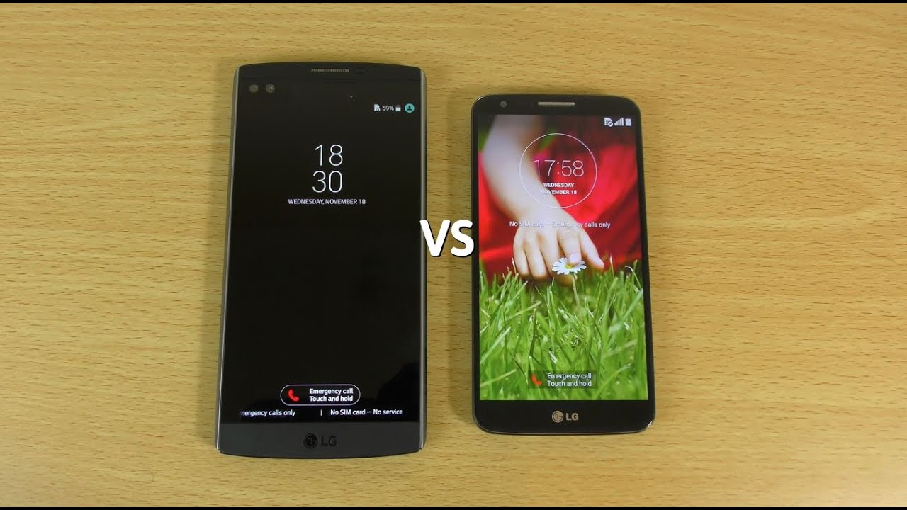 LG V10 VS LG G2 - Speed test