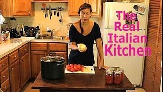 How To Make Tomato Sauce - Gravy - For Beginners - Real Italian Kitchen