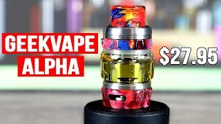 Geekvape Alpha Sub Ohm Tank Review - A TOP 3 MESH TANK? ✌️