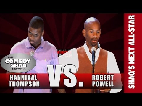 Hannibal Thompson VS Robert Powell⎢SHAQUILLE O'NEAL'S NEXT ALL-STAR⎢Comedy Shaq