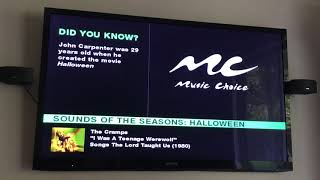 Music Choice 2018 Sounds of the seasons Halloween to holiday music